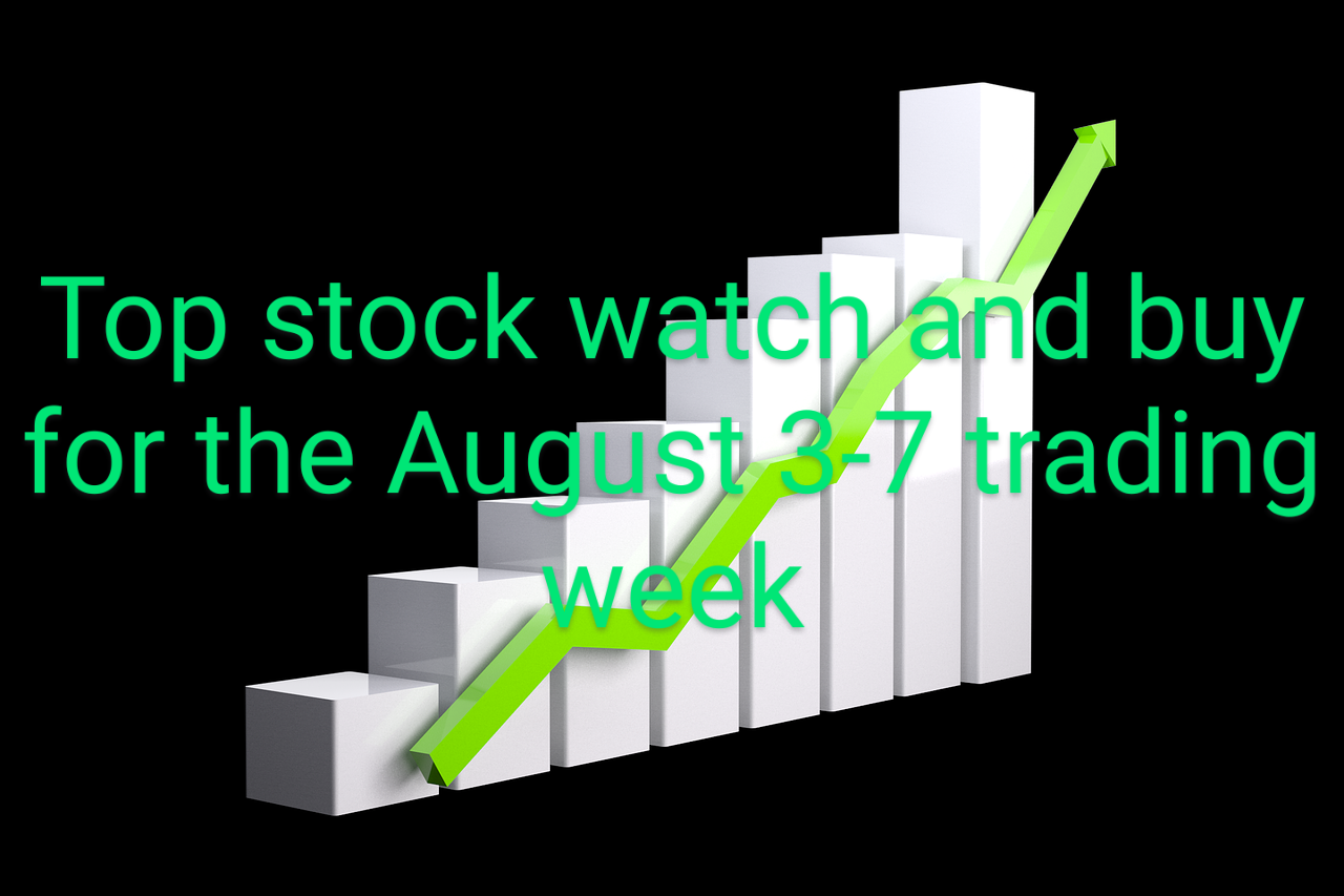 A Top Stock To Watch And Buy For The August 3-7, 2020 Trading Week.